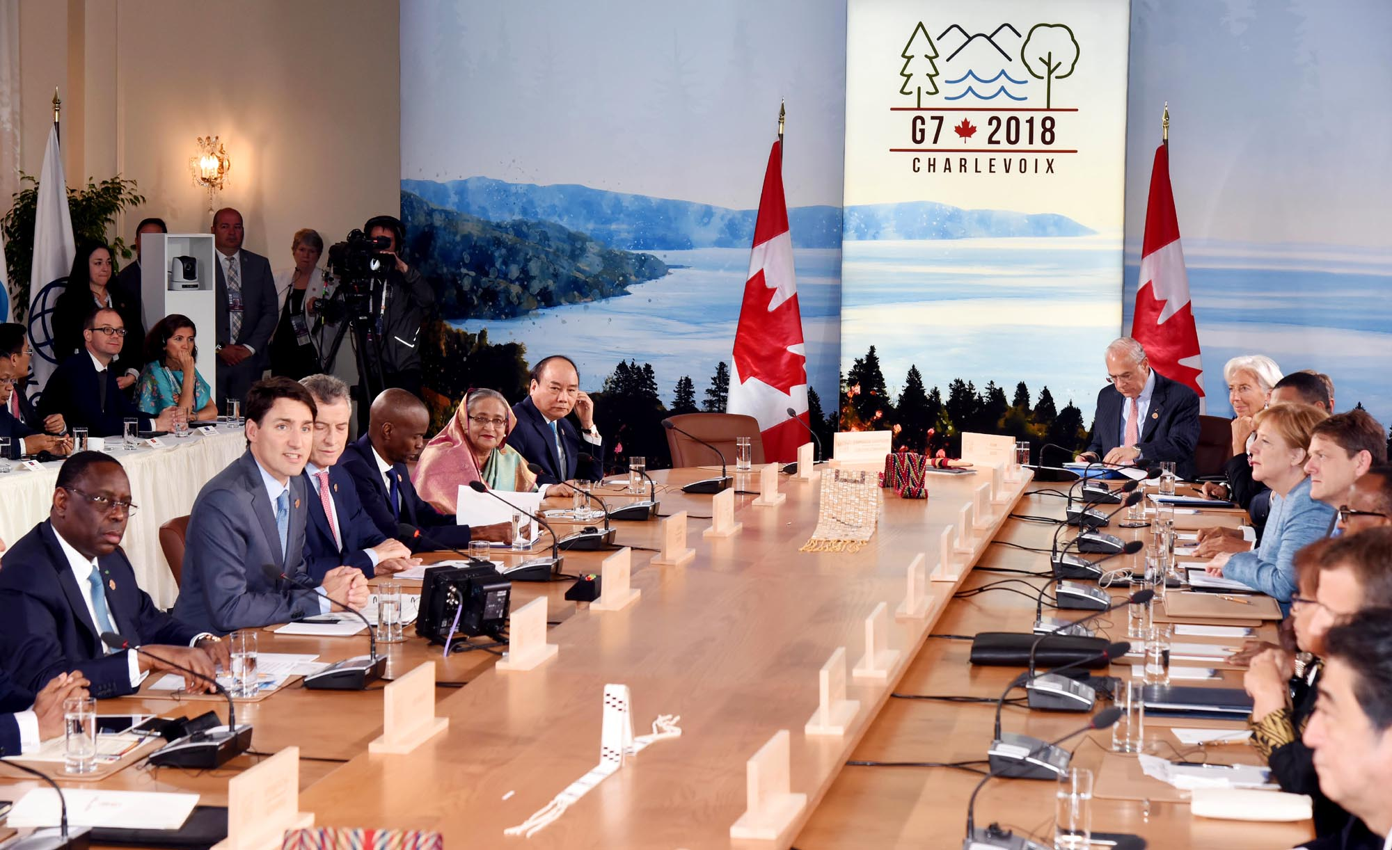 G7 Meeting on May 9, 2018